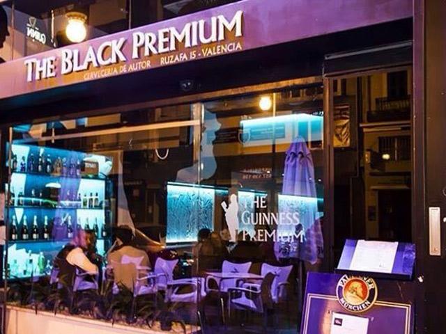 Restaurante The Black Premium Ruzafa