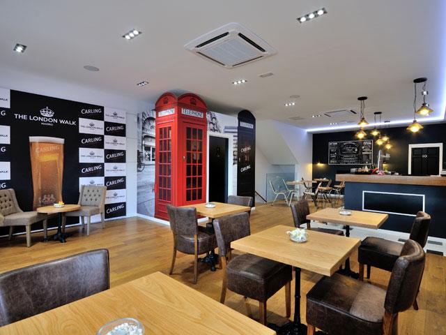 Restaurante The London Walk