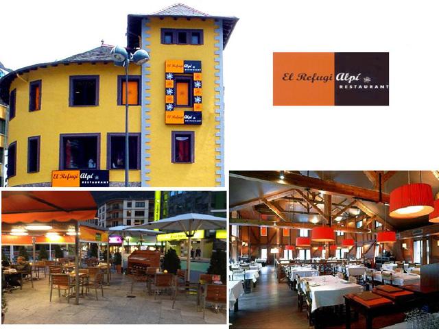 Restaurante El Refugi Alpi